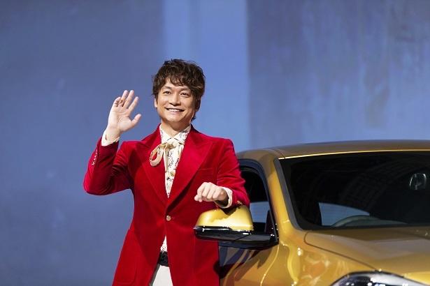 BMWのブランド・フレンドに就任した香取慎吾