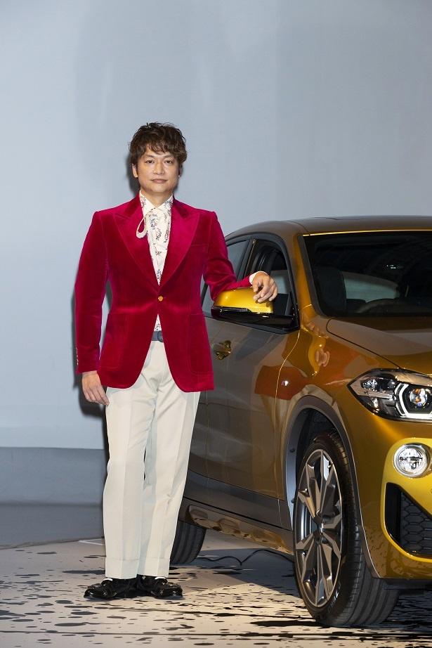 「BMWの常に進化し続ける、チャレンジし続ける姿勢など、共感する部分が多い」と香取