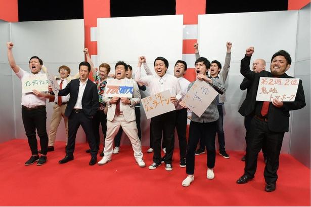 「にちようチャップリン」4月大会もいよいよ決勝!