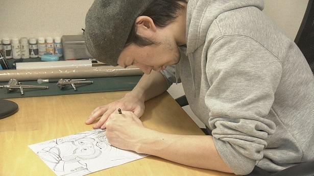 """武内さんの詩と""""コラボ""""したのは画家の石川真澄"""