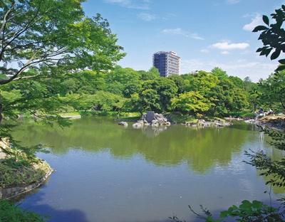 小石川後楽園は、池を中心とした景観豊かな庭園
