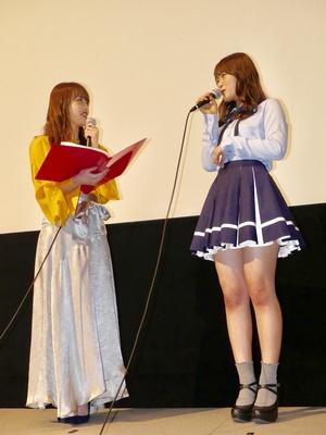 【写真を見る】MCを務めた元NMB48メンバーの門脇佳奈子さん(写真左)と軽快なトークを展開