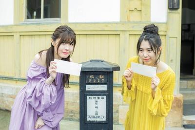 「郵便ポストもレトロでかわいい!」(2人)