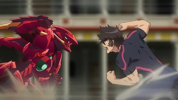 「ハイスクールD×D HERO」第1話の先行カットが到着。リアスたちが早朝から一誠の体を奪い合う!?