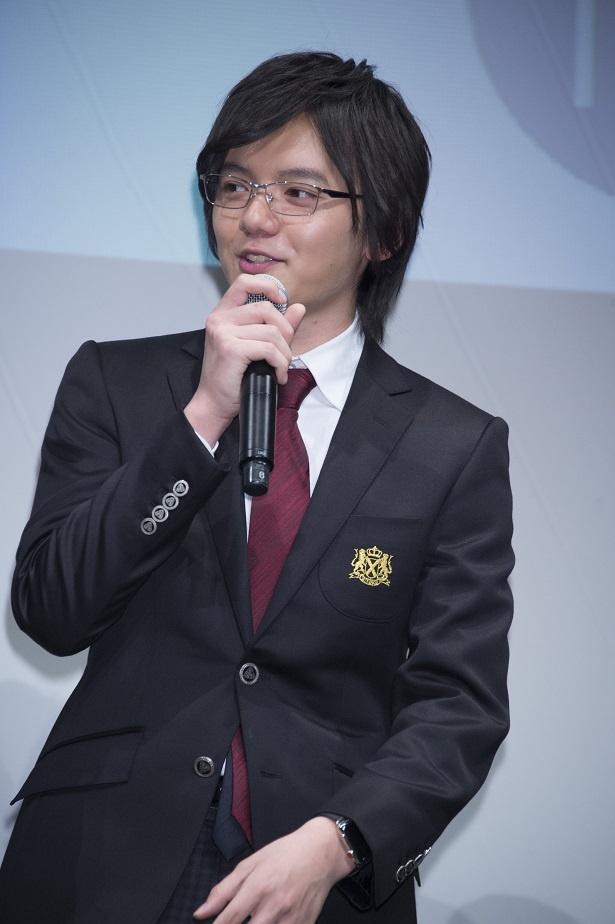 子役からイメージ一新 濱田龍臣