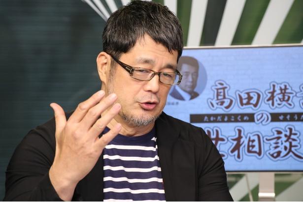 【写真を見る】髙田延彦がボクシング・比嘉大吾の体重超過についてコメント