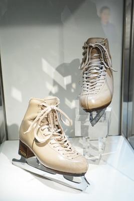 愛用のスケートシューズ