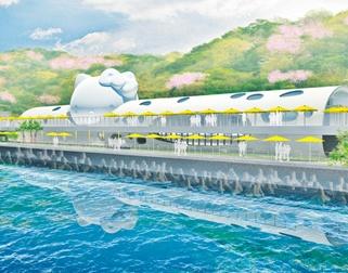 淡路島にまた斬新な施設!「HELLO KITTY」の新名所はここに注目を