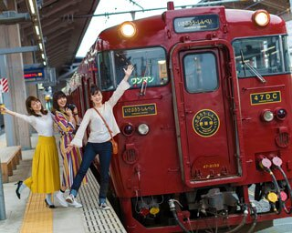 """休日は観光列車に乗って ~レトロを楽しむ""""ノスタルジック""""女子旅~ vol.1 特急いさぶろう・しんぺい"""