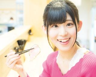人気連載「SKE48のふぅふぅ女子♥」のスピンオフ企画として、「メンバーとおいしいラーメンを食べた~い♥」を勝手に妄想しちゃいました!今回の彼女はチームSの岡田美紅ちゃん♪