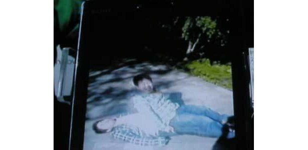 スマートフォンで撮った動画で「幽体離脱〜」