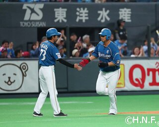 今シーズンも一番・中堅で活躍を見せる西川遥輝選手