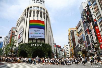 パレードの様子(写真は2017年)