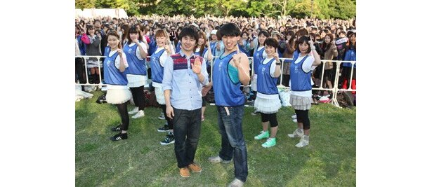 ファン1万人と、トゥース!!!!!!!