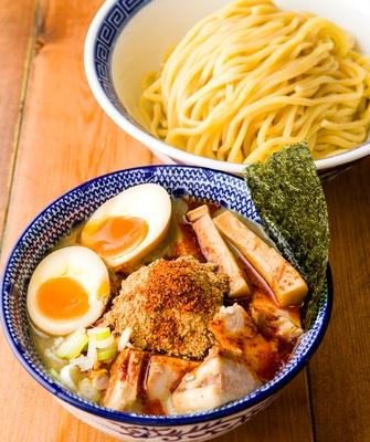 麺や 兼虎 / 味玉辛辛つけ麺・並(1,030円)