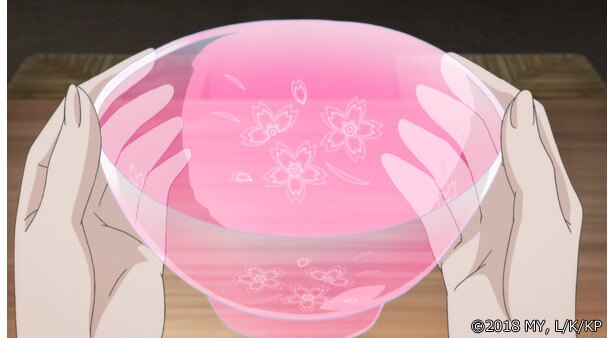 「かくりよの宿飯」第4話の先行カットが到着。雪女のお涼を介抱していたら…