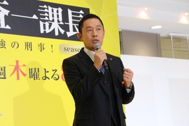 内藤剛志主演の「警視庁・捜査一課長」は、第2話でホシも数字もあげた!