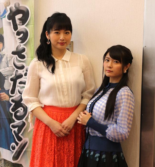 広島県三原市での撮影は和やかなムードだったと語る須藤茉麻と竹達彩奈