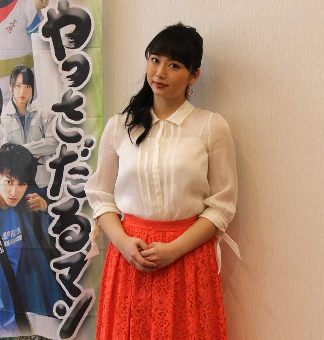 普段は舞台をメインに活動している須藤茉麻