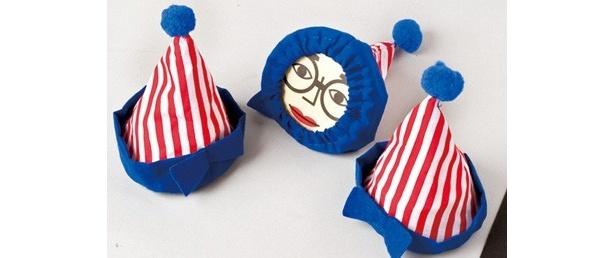 """くいだおれ太郎がプリンになって戻ってきた!? ピエロ帽がかわいい""""大阪名物くいだおれ太郎プリン""""(3個・1050円)"""