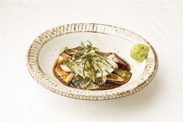 <立ち上がる酒場 NEO MEGUSTA>「新鮮なごま鯖」(380円)も人気の一品。「このクオリティでこの値段!?」と驚きのメニュー展開が魅力