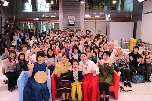 連続テレビ小説「わろてんか」のオフラインミーティングが行われた