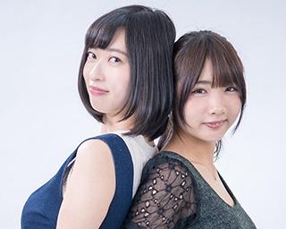 倉持由香と水沢柚乃は事務所で先輩と後輩の間柄