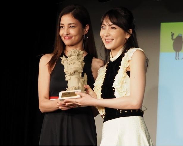 おーきな観客賞に輝いたのは知英主演の『レオン』
