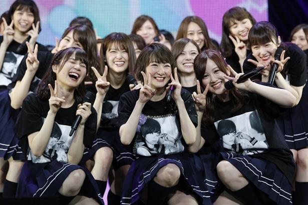 乃木坂46・生駒里奈、笑顔に包まれ卒業コンサート