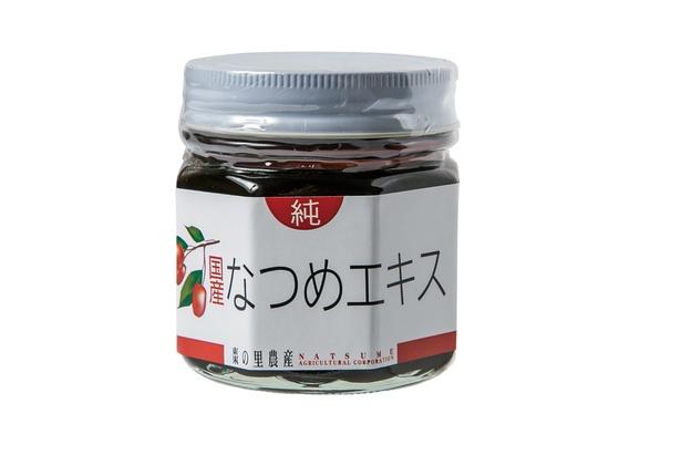 食の國 福井館の「なつめ純エキス」(4860円)。栄養補助食品として人気