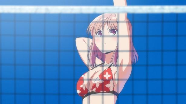 女子高生の水着姿が眩しい!TVアニメ「はるかなレシーブ」新ビジュアル公開!