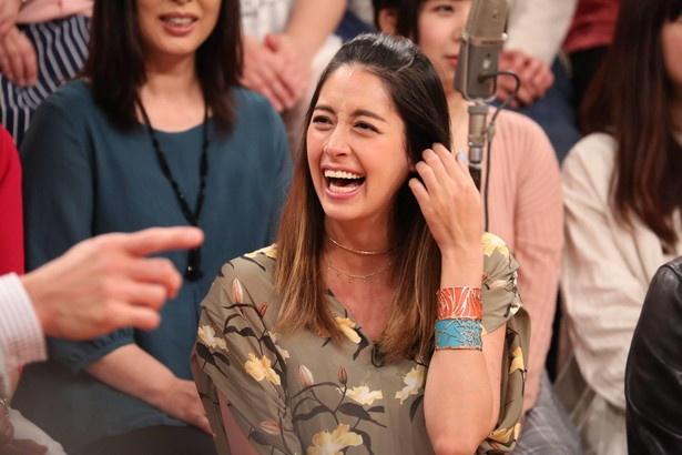 森泉が4月25日(水)放送の「梅沢富美男のズバッと聞きます!」で年上夫とのなれ初めを初告白する