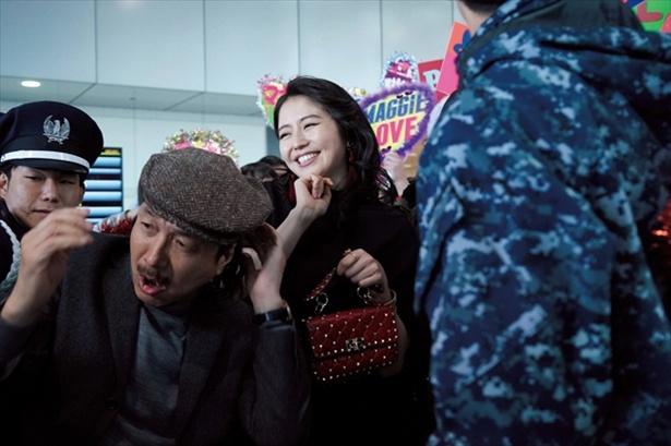 ダー子扮する中国人女優のマギー・リン