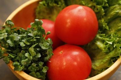 すべて国産の新鮮な野菜を使用
