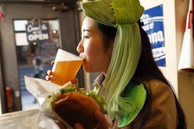 「箕面ビールがおいしい~!」