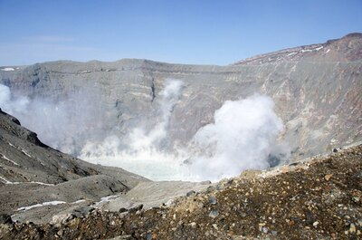 火口の規制情報は、阿蘇火山防災 会議協議会のHPで最新情報を確認しよう