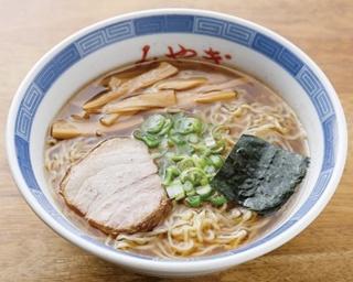 「中華そば」(600円)は、みずみずしくキリッとした醤油スープがたまらない!