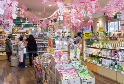 琉球ののんびりした雰囲気が漂う銀座わしたショップ 本店