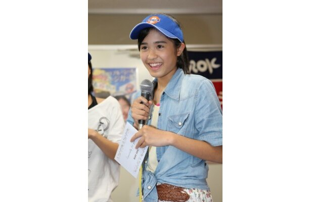 【写真】イベントではあどけない笑顔にキュン!写真は横田美菜