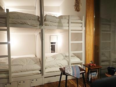 【写真を見る】ホステルは3タイプの部屋に分かれている