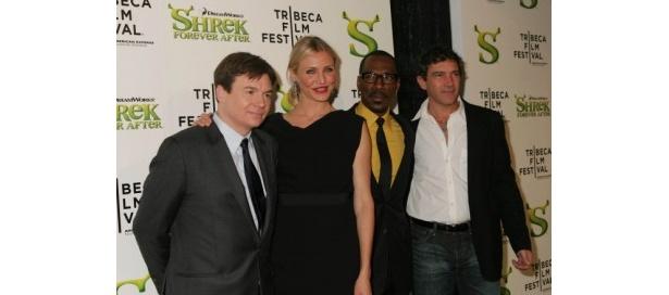 キャメロン・ディアスなど、オープニングを飾った『Shrek forever After』の声優陣