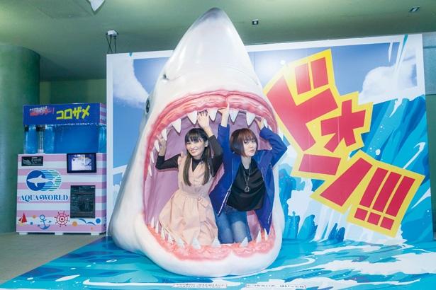 【悲報】サメさんチームの2人、サメに食べられそうになる