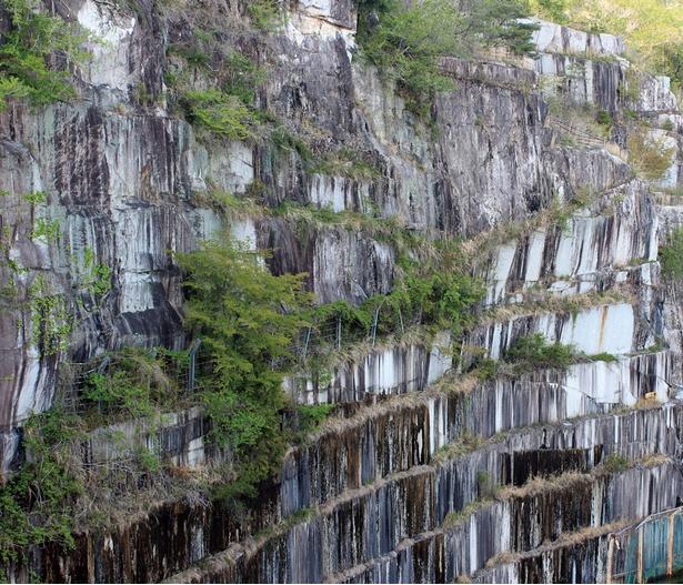 約6000万年前に誕生したとされる花崗岩(かこうがん)で、笠間地区は日本最大の産地だ