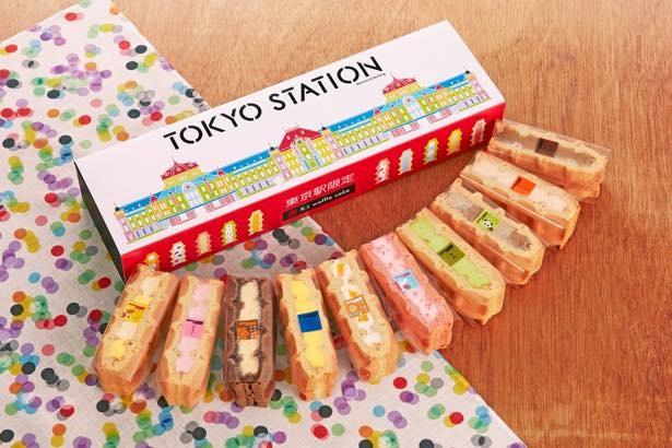 ワッフル・ケーキの店 R.Lの「東京駅限定ワッフル10個セット」(10個入1300 円)