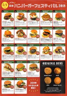 20店舗644個のハンバーガーが登場!すべてこのイベントのために開発された新作