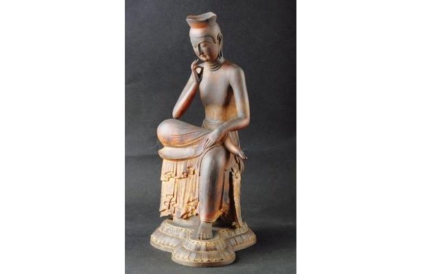 リアル仏像「弥勒菩薩」(6万3000円)