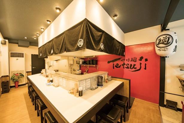 つけ麺 Tetsuji / 2017年6月にオープン。系列の居酒屋で人気のつけ麺に特化