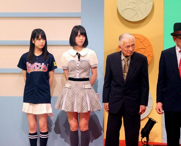 AKB48の小田えりなと吉川七瀬がカラオケ番組に出演。いつもと違う視聴者層の前で新たなファン獲得なるか?