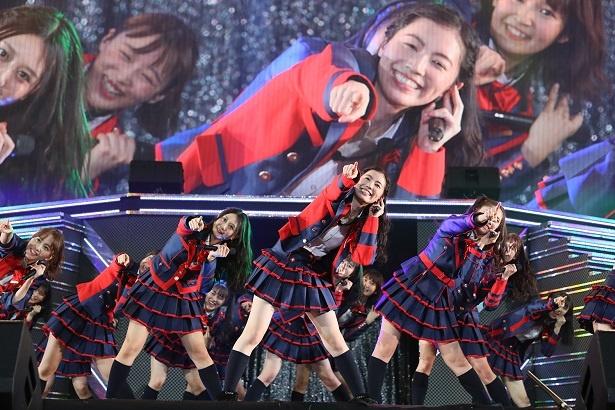 4月28日に名古屋・日本ガイシホールで行われたSKE48のコンサートの夜公演の模様をリポート