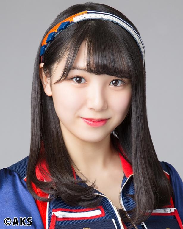 「SKE48 単独コンサート 10周年突入 春のファン祭り!―」夜公演で「枯葉のステーション」を披露した菅原茉椰